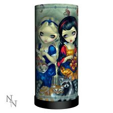LAMP ALICE AND SNOW WHITE JASMINE BECKET-GRIFFITH FAIRYTALE NEW NEMESIS NOW NEW