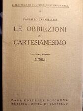 Le obbiezioni al Cartesianesimo