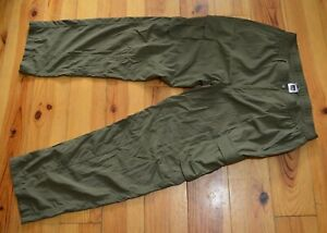 THE NORTH FACE MENS GREEN OUTDOOR CARGO TROUSERS VGC SIZE 36 REGULAR