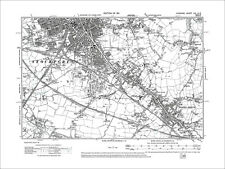 Faddiley old map Cheshire 1912: 55SE Burland Acton