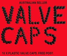 VALVE CAPS CAP PLASTIC TYRE TIRE STEM SEAL WHEEL CAR TRUCK BIKE 4X4 10 x CAPS
