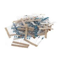 1/4w 5% Metal Film Resistor Kit 400pcs 40 Values Assortment/Pack/Mix/Select V2V5