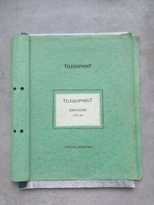 Telequipment - Serviscope Type S3-1 Operating Instructions