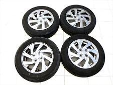 4x complete wheels Aluminum rim summer tires 165/65R14 4X100 5.3-6.9mm Space Sta