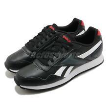 Reebok Royal Glide Negro Blanco Rojo Clásico De Hombre Zapatos informales Tenis FW6707