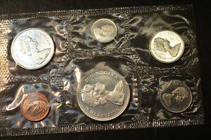 Canadian Royal Mint Proof Set Silver Coins 1967 Centennial