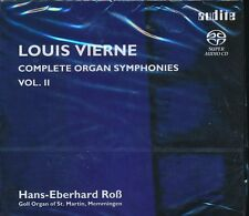 Louis Vierne Complete Organ Symphonies Vol 2 CD NEW Hans-Eberhard Ross SACD