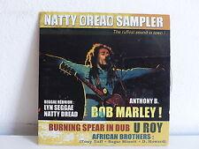CD Sampler N°3 Natty Dread BOB MARLEY / BURNING SPEAR / U ROY