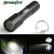 Compact 15000Lm Zoomable XML T6 LED 18650 Flashlight Torch Lamp Light 1