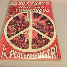 Sgt Fury No 64 Mar The Peacemonger Marvel Comics Fine