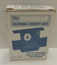 The Guardian Telephone Security Lock Standard Dial and Touch-Tone Desk Phones