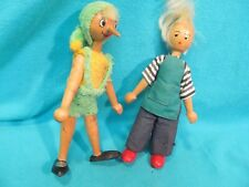 Poland Wood Dolls Pinocchio & Geppetto