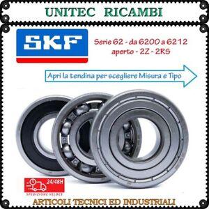 Cuscinetto SKF 6200 6201 6202 6203 6204 6205 6206 6207 6208 6209 6210... 2Z 2RS