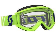Maschera Occhiali Moto Scott Recoil xi Cross Enduro (verde) (c2j)