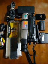 Sony Ccd-Trv85 Hi8 8mm Video 8 Camera Handycam X-Ray Japan Sept 1998 Nightvision