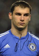 Branislav Ivanovic, Chelsea & Serbia, signed 12x8 inch photo. COA.