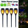33LED Solar Torch Light Waterproof Flame Flickering Dancing Garden Lantern Lamps