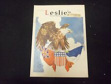 1917 MAY 10 LESLIE'S WEEKLY MAGAZINE - GREAT COVER, PHOTOS & ADS - ST 2148