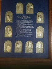 New listing The 23rd Psalm Set Of 10 Antique/Proof Silver Ingots, The Franklin Mint,1977,Coa