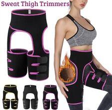 Women Thigh Leg Tummy Waist Trainer Sweat Belt Body Shaper Slim Weight Loss