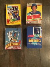 100 Card Vintage Lot 6 UNOPENED 1989 Baseball Packs *Possible Griffey Jr. Rookie