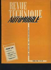 (34B) REVUE TECHNIQUE AUTOMOBILE  VELAM ISETTA / TRIUMPH TR 2