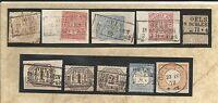 Pr Vor / OELS IN SCHLESIEN Ra3 auf Briefstück Pr. 18a, Briefstück NDP 4, Briefst