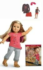"""NEW American Girl ISABELLE 18"""" Doll Meet Outfit PLUS Saige Girls Pajamas S or L"""