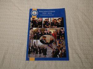 Royal Navy WRNS Association of Wrens 1920-2010 90th Brochure Programme