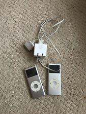 apple ipod nano 1st generation. 2 Units With 1 Charger Bundled