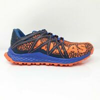 Adidas Mens Vigor Bounce CQ1459 Orange Blue Running Shoes Lace Up Low Top Size 6