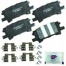 CARQUEST Brakes PXD996H Rear Premium Ceramic Brake Pads