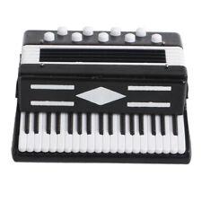 Hölzernes Tasten Kinder Akkordeon Ziehharmonika Musikinstrument, 6,5 × 2,5 ×