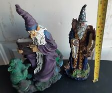 Wizard Figurine Lot Danbury Mint