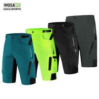 Men Baggy Cycling Shorts Loose-fit Padded Shorts MTB Mountain Bike Bicycle Pants