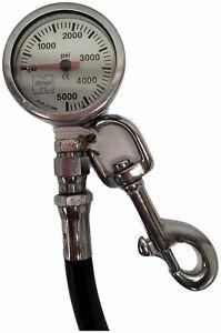 Highland Pressure Gauge 4000 PSI