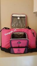NWOT 6 Pack Fitness Pink Innovator 300 Bag 3 meal WITHOUT Tupperware & Ice packs
