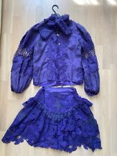 Zimmerman Styl Dress Skirt and Blouse Size S