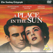 A PLACE IN THE SUN - Elizabeth Taylor & Montgomery Clift - DVD