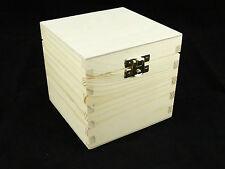 PLAIN Legno tè / caffè Trinkets gioielli scatola di immagazzinaggio di decoupage