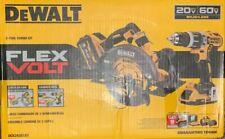 DeWALT FLEXVOLT DCK293D1X1 60-Volt Lithium-Ion Cordless Combo Kit (2-Tool)