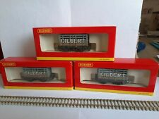 HORNBY GILBERT OPEN PLANK WAGONS. BRAND NEW X 3