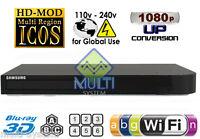 NEW Samsung 3D BD-H5900 Wi-Fi Multi Zone All Region Free Blu-Ray DVD Player