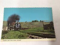 Postcard Railroad Trains Cumbres And Toltec Scenic Railroad Train