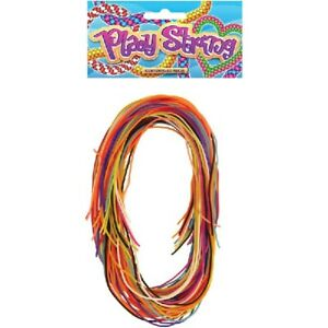 40 Coloured Play Strings Scoubidou Scubidu Scooby do Scoobies Various Colours
