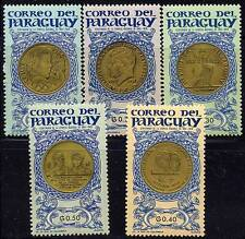 PARAGUAY = KENNEDY, deGAULLE, OLYMPICS/GOLD COINS on STAMPS (NOT REAL COINS)MNH
