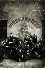 Sons of Anarchy Poster Vintage