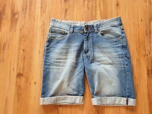 MCNeal Herren Jeans Short in blau Gr.M