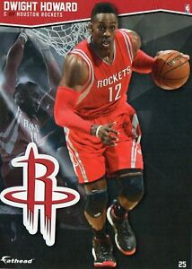 2015-16 NBA Basketball Fathead Vinyl Decal/Sticker Dwight Howard Houston Rockets