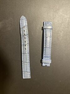 Cartier Skinny Light Blue Alligator Wrist Strap - worn a few times